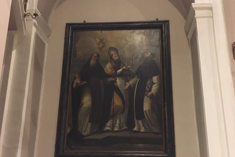 Il quadro di Sant'Antonio Abate