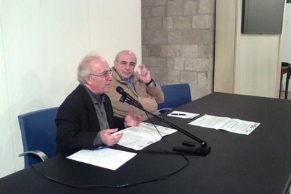 Don Benedetto Fiorentino ed Enzo Quarto. <span>Foto Gianluca Battista</span>