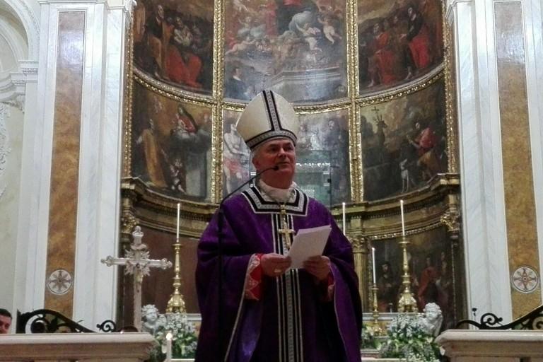 Mons. Domenico Cornacchia. <span>Foto Gianluca Battista</span>