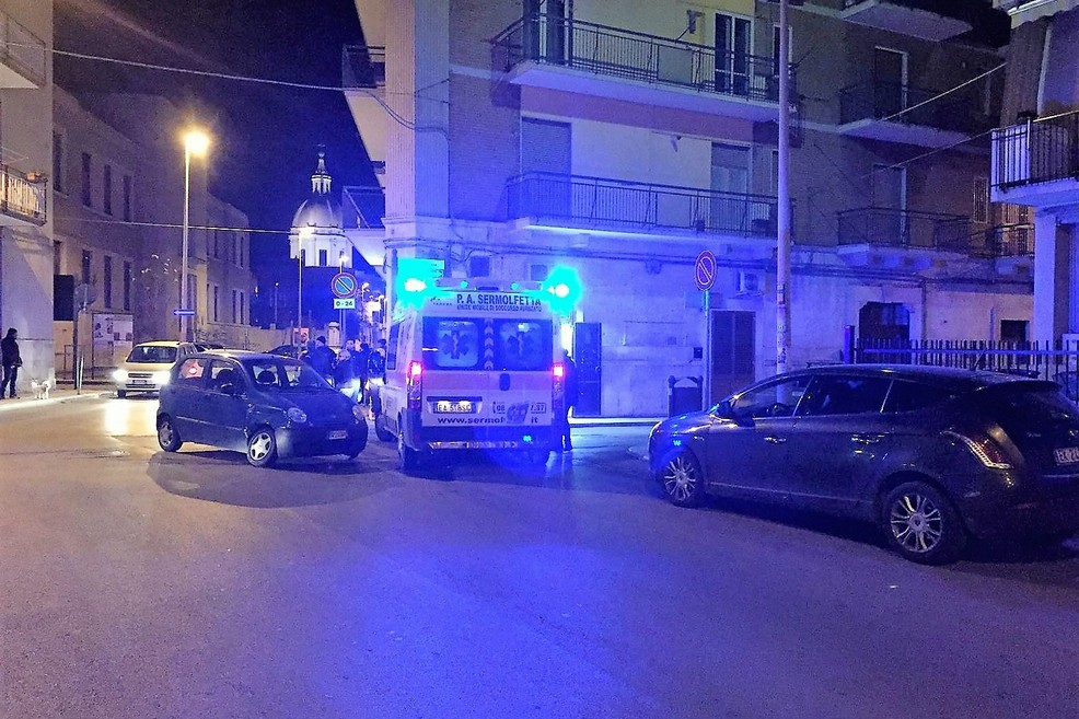 Incidente via Gioia