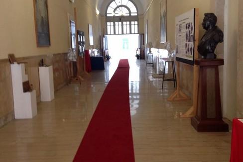 I corridoi dell'IVE. <span>Foto Marzia Morva</span>