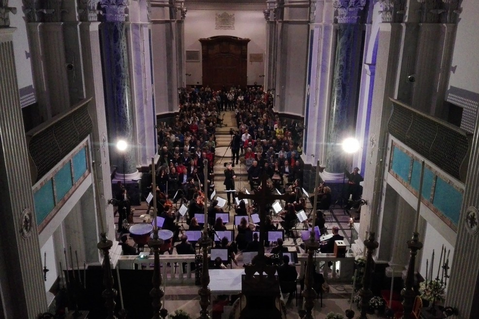 Un concerto a Sant'Agostino. <span>Foto Giuseppe Dalbis</span>
