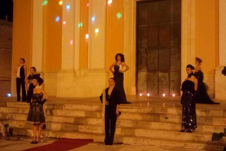 La moda in piazza Sant'Agostino