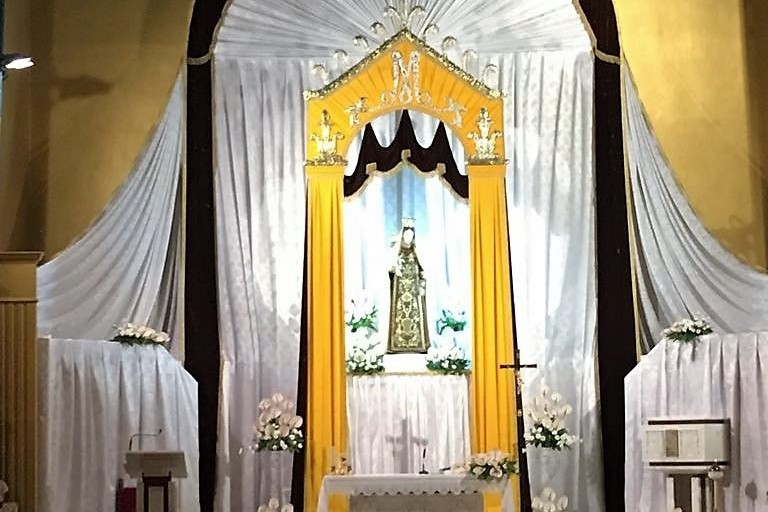 La Madonna del Carmelo nella parrocchia San Giuseppe