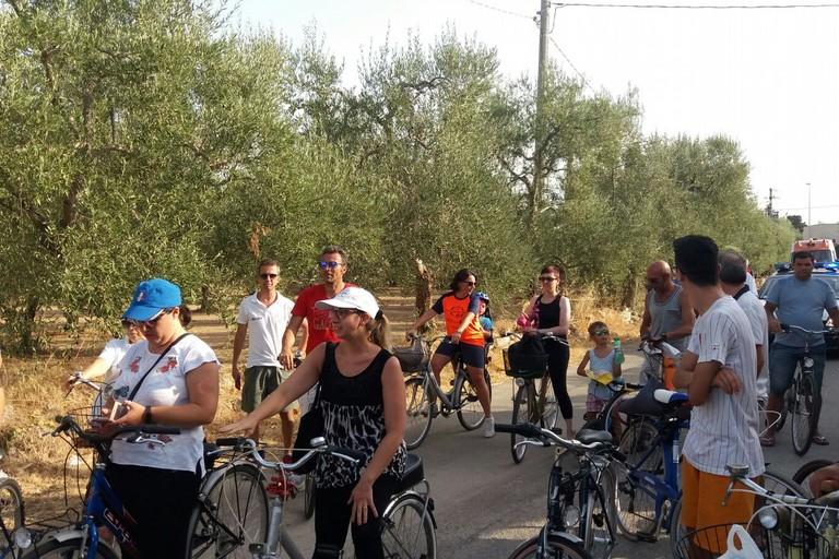 Tutti in bici nell'agro giovinazzese