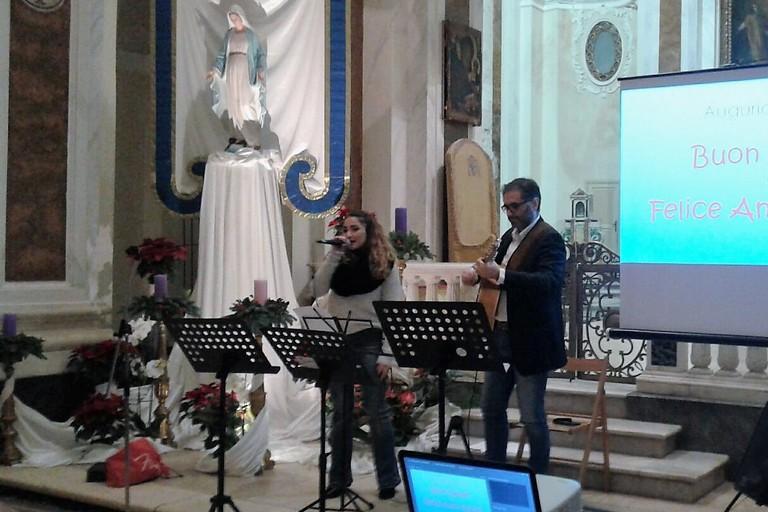 Un momento del concerto. <span>Foto Gabriella Serrone</span>