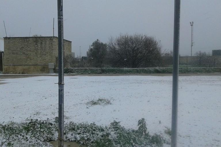 Neve a Giovinazzo (Foto Gabriella Serrone)