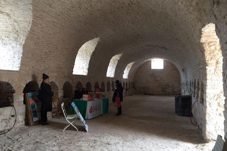 L'interno del Casale San Martino. <span>Foto Michele Camporeale</span>