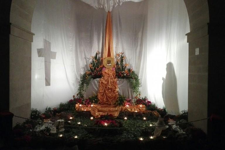 Altare della Reposizione dei Frati Cappuccini. <span>Foto Giuseppe Dalbis</span>