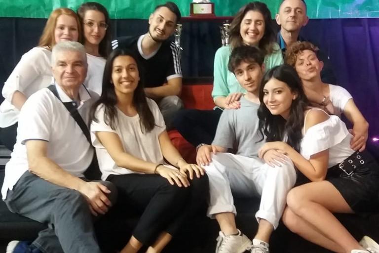 Il gruppo della Dance Team