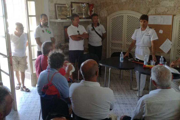 La Guardia Costiera incontra i diportisti di Giovinazzo