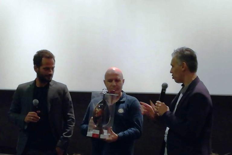 Nicola Giotti omaggia Pippo Mezzapesa