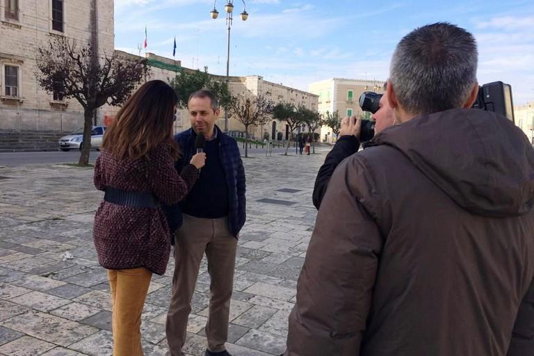 La Vita in Diretta intervista il Sindaco. <span>Foto Uff. Stampa Comune </span>