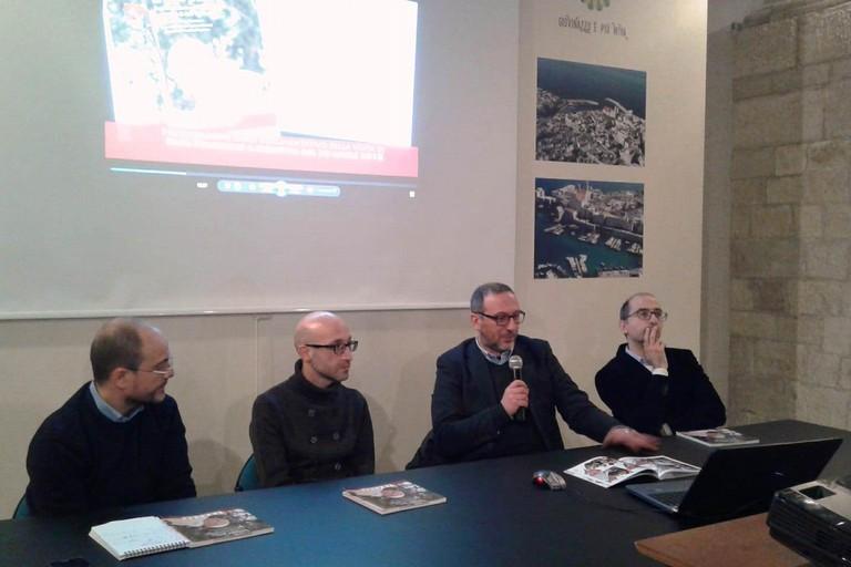 Un momento della presentazione del volume (Foto Gabriella Serrone)
