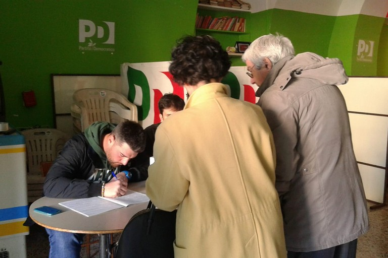 Primarie PD. <span>Foto Gabriella Serrone</span>