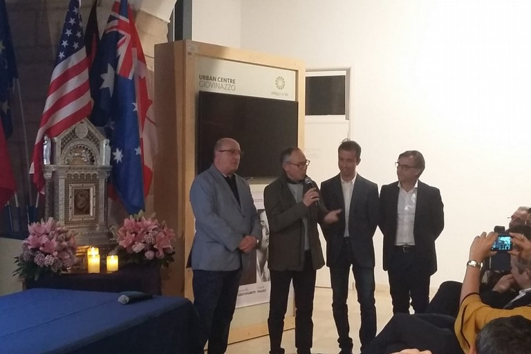 Vito Fumai presenta l'edizione 2019 del Gamberemo. <span>Foto F.B. </span>