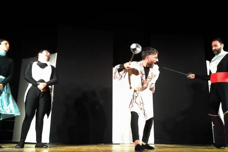 La Calandra sul palco di Giovinazzo. <span>Foto Gabriella Serrone</span>