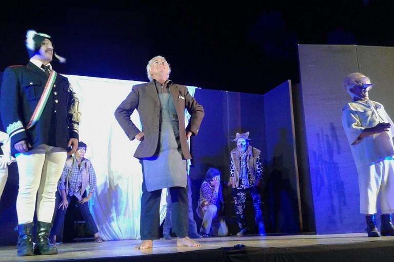 Pinocchio in scena a Giovinazzo Teatro