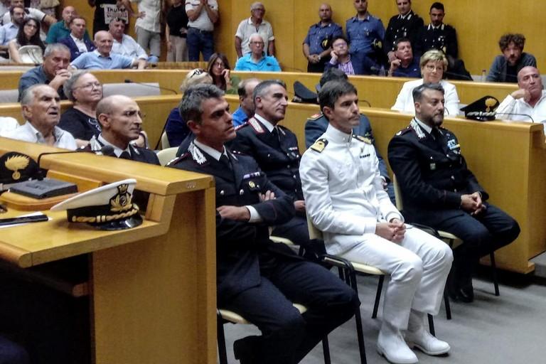 La prima uscita ufficiale del capitano Francesco Iodice