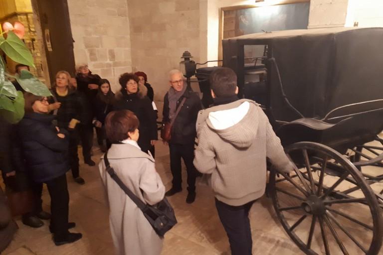 L'atrio di Palazzo Framarino