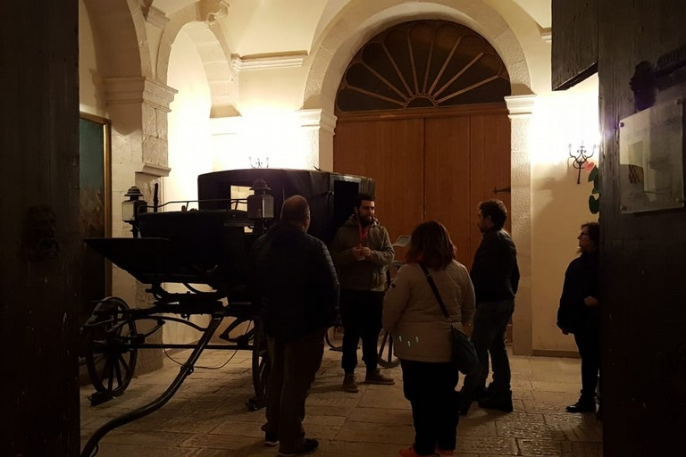 Palazzo Framarino - l'androne
