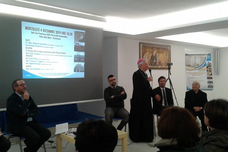 L'intervento di Mons. Cornacchia