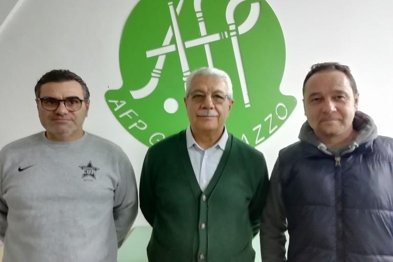 Dino Camporeale, Nino Caricato e Sabino Dangelico