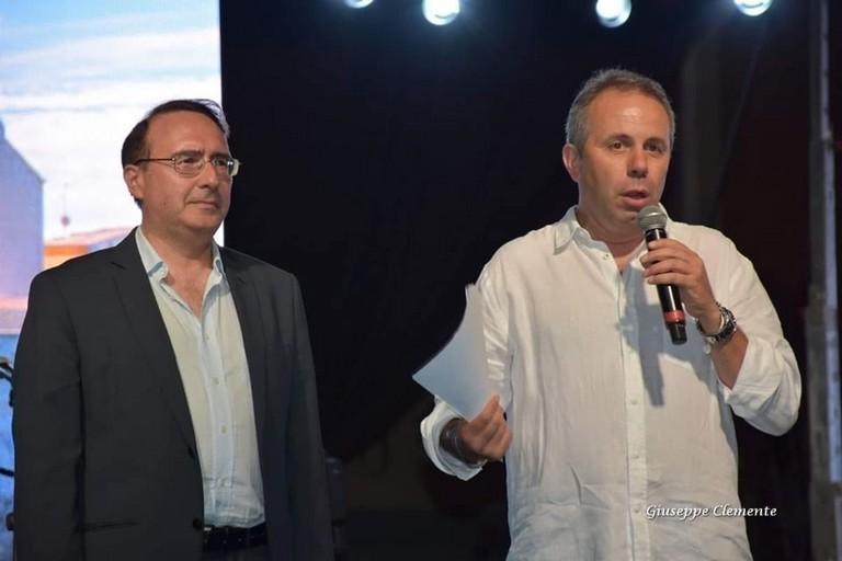 Agostino Picicco e Tommaso Depalma. <span>Foto Giuseppe Clemente</span>