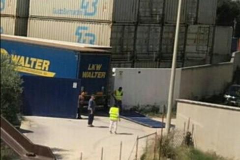 L'incidente avvenuto nei pressi del terminal di Giovinazzo