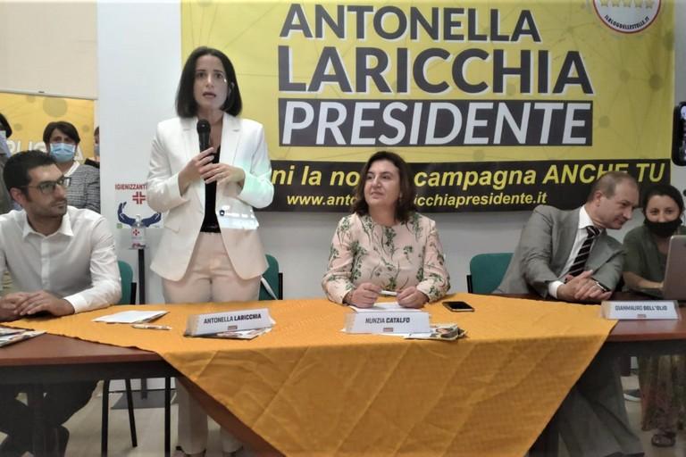 Laricchia con il Ministro Catalfo. <span>Foto BariViva</span>