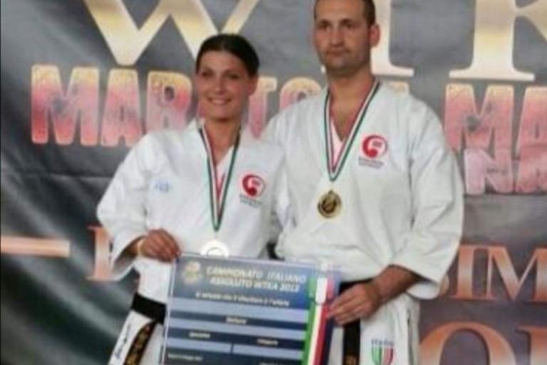 Claudia Molinini e Agostino Debari