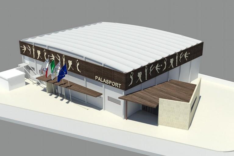 Il progetto del Palasport di via Devenuto