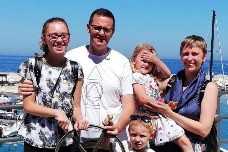 Mino Stallone e la sua famiglia a Giovinazzo