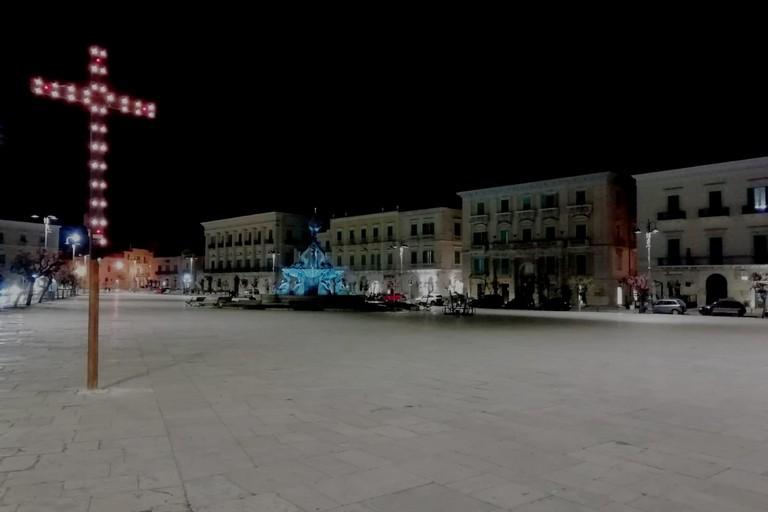 Giovedì Santo 2021. <span>Foto Giuseppe Palmiotto</span>