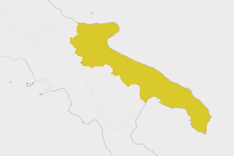 Giovinazzo e la Puglia tornano in zona gialla