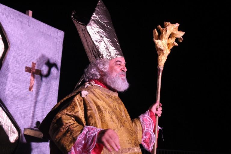 San Nicola secondo i Malalingua. <span>Foto Gianluca Battista</span>