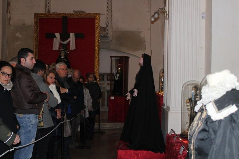 La sera dell'inaugurazione. <span>Foto Gianluca Battista</span>