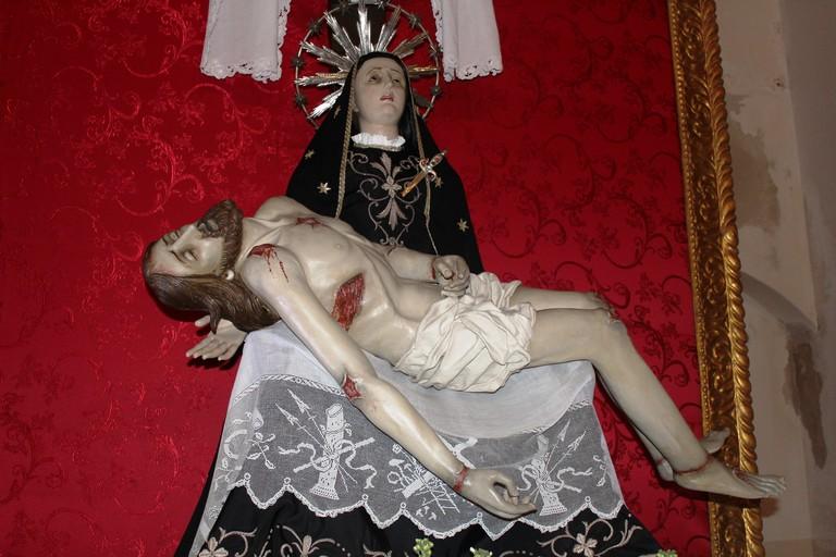 La Pietà di Carlo Cinzio Altieri. <span>Foto Gianluca Battista</span>
