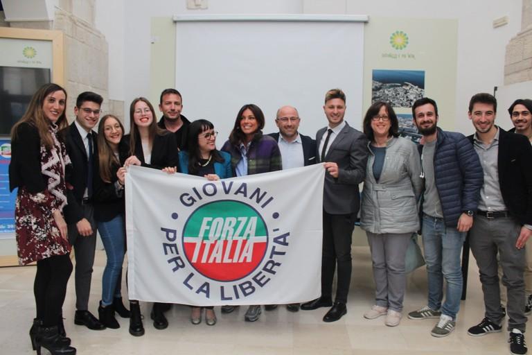 Il neonato Movimento giovanile di Forza Italia. <span>Foto Gianluca Battista</span>