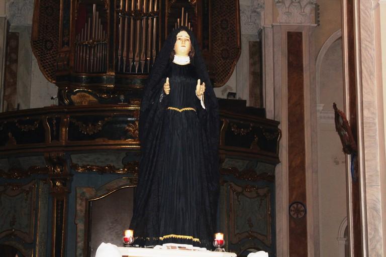 """Partecipazione e commozione per il rito della """"Madonna sotto l'organo"""" (FOTO)"""