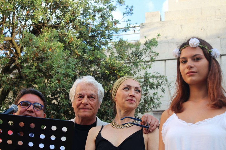 De Matteo, Placido e Barucchieri. <span>Foto Gianluca Battista</span>
