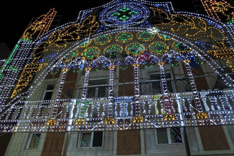 Le luminarie per Maria di Corsignano