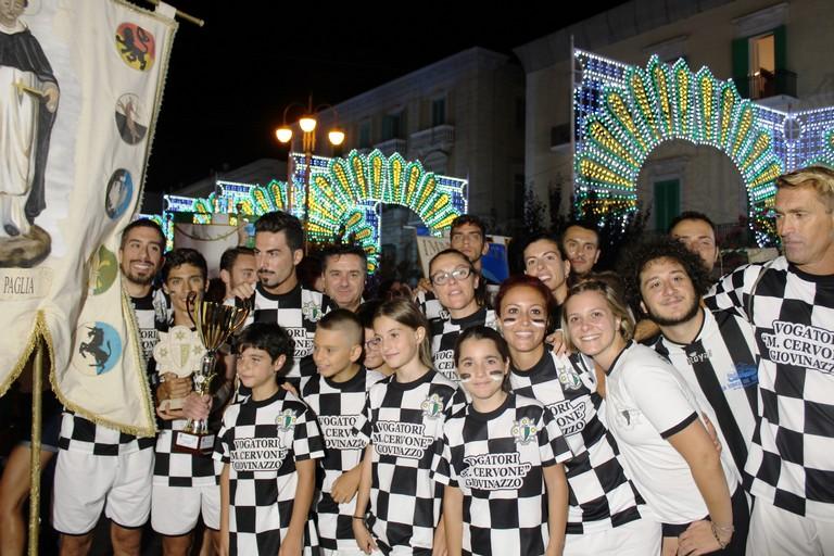 Il rione San Domenico campione 2019. <span>Foto Gianluca Battista</span>