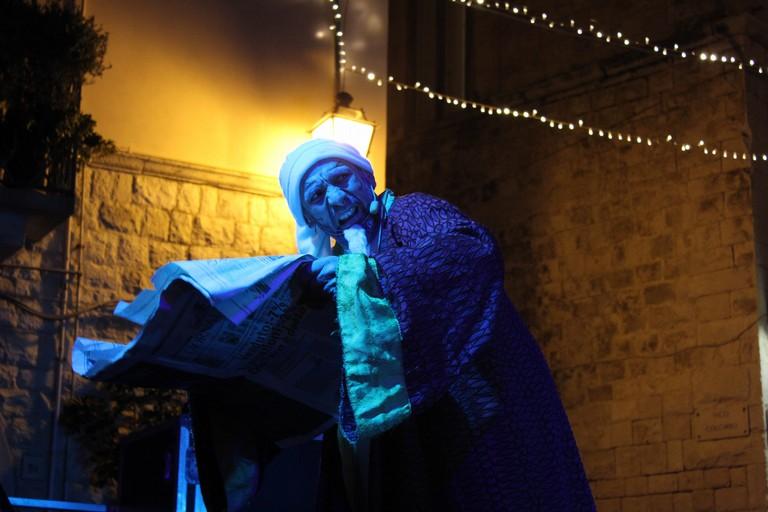 Tammacco è Scrooge. <span>Foto Gianluca Battista</span>