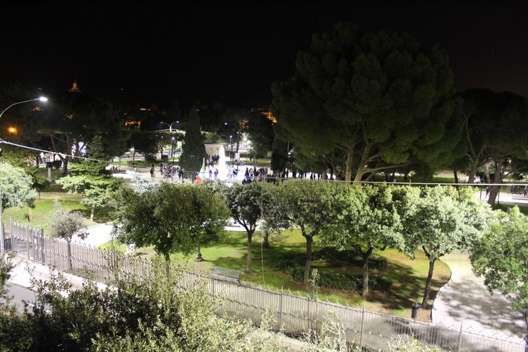 La Villa Comunale dall'alto. <span>Foto Gianluca Battista</span>