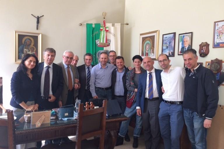 Il sindaco Depalma incontra la Confartigianato