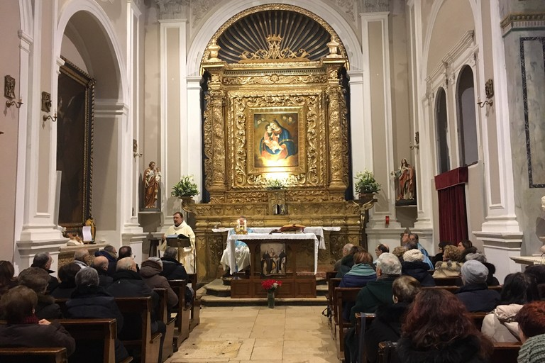Celebrazione Madonna di Costantinopoli. <span>Foto Marzia Morva</span>