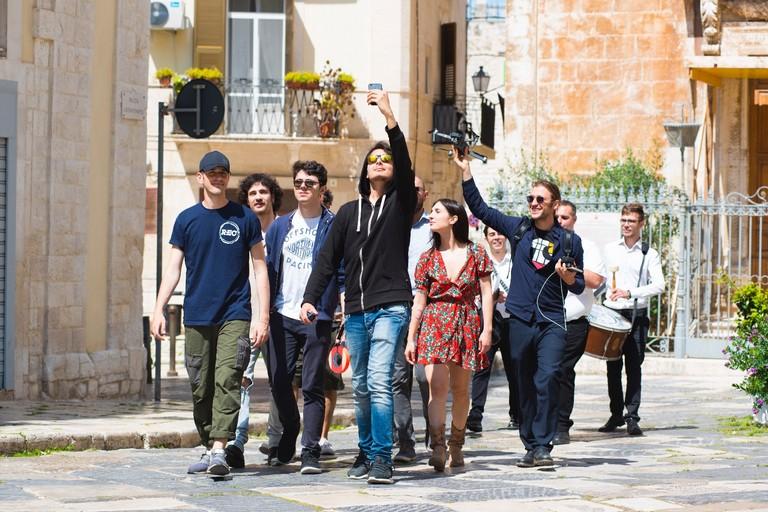 Una scena dal videoclip
