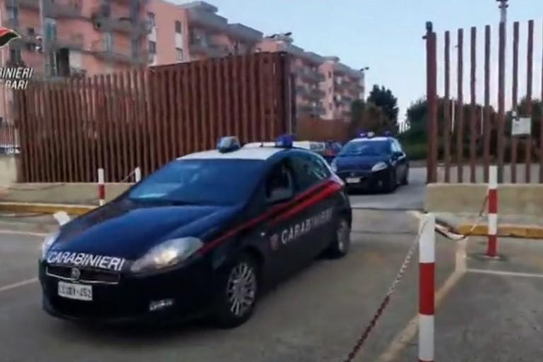 Gli arresti dei Carabinieri
