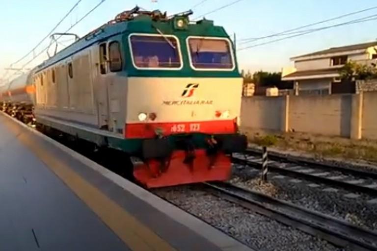 Un treno di Mercitalia